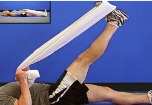 Knee arthritis exercises - Hamstring stretch