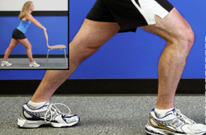 Knee arthritis exercises - calf stretch