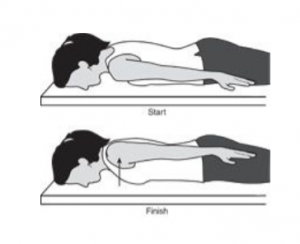shoulder pain exercises - scapula setting