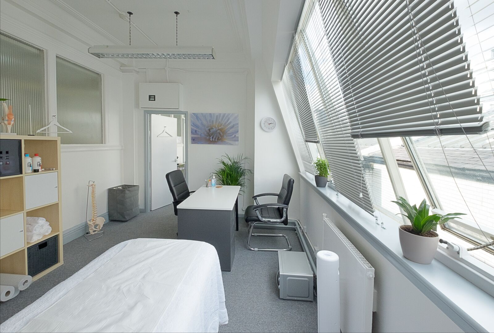Total Restore - physio studio in Manchester treatment room