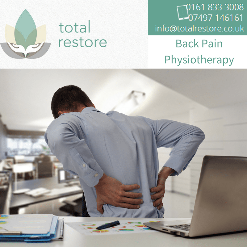 Back Pain Physiotherapy in Manchester with Total Restore