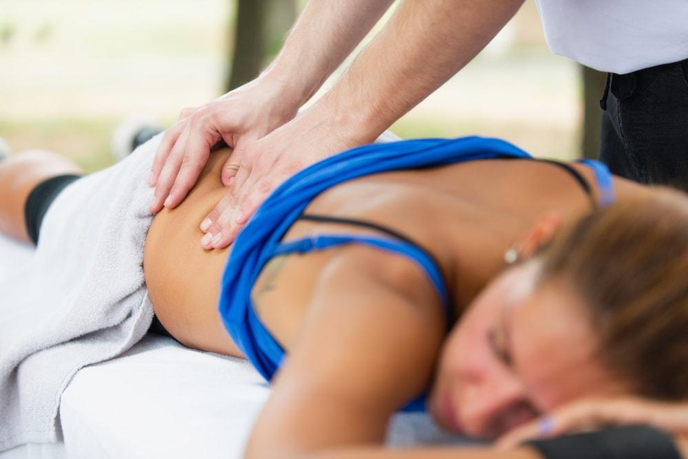 Sports Massage Lower Back