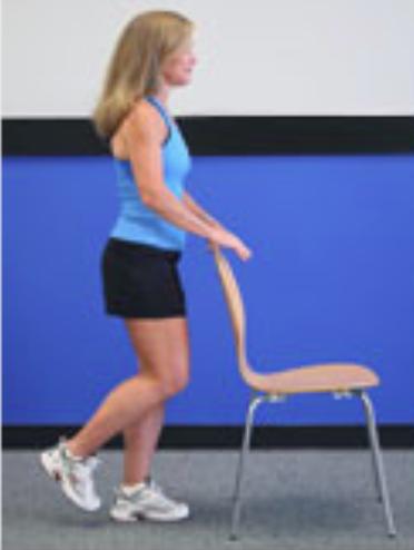 Knee arthritis exercises - one leg balance